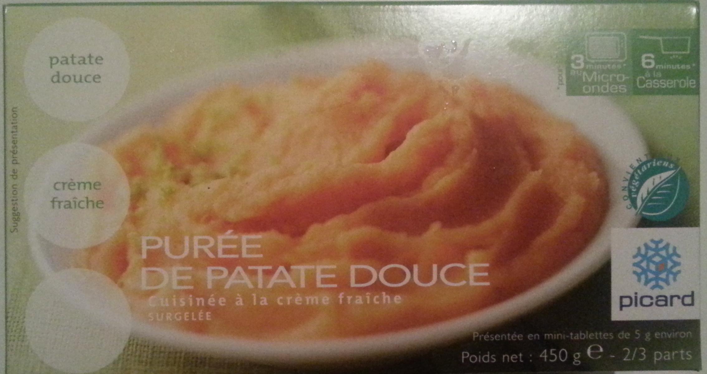 Purée de patate douce - Produit