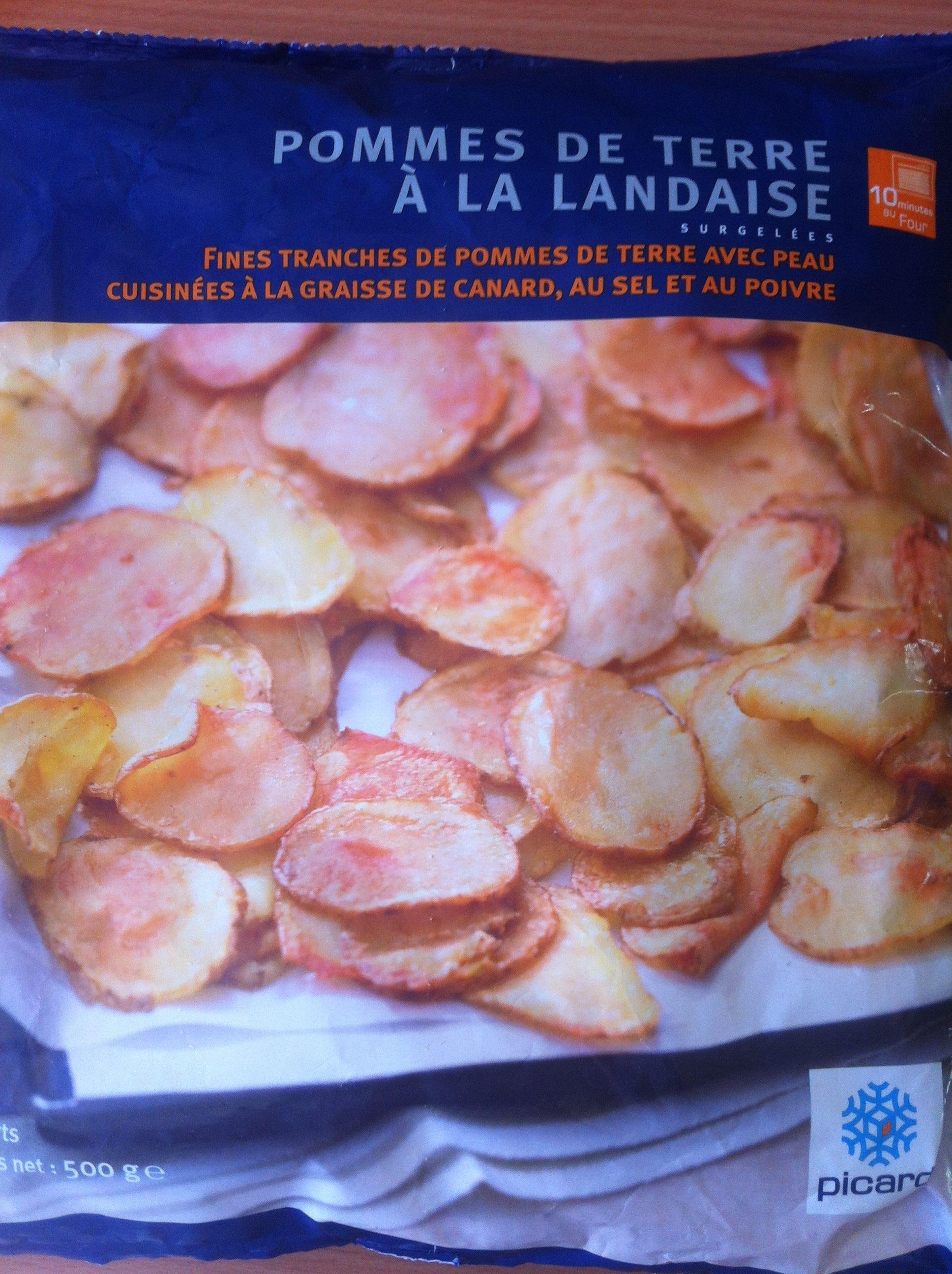 Pommes de terre à la landaise - Product