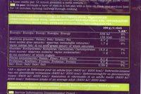 Rostis de pomme de terre - Informations nutritionnelles