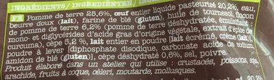 Pommes Dauphines aux Cèpes - Ingrédients