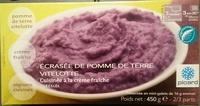 Ecrasée de pomme de terre vitelotte - Produit - fr
