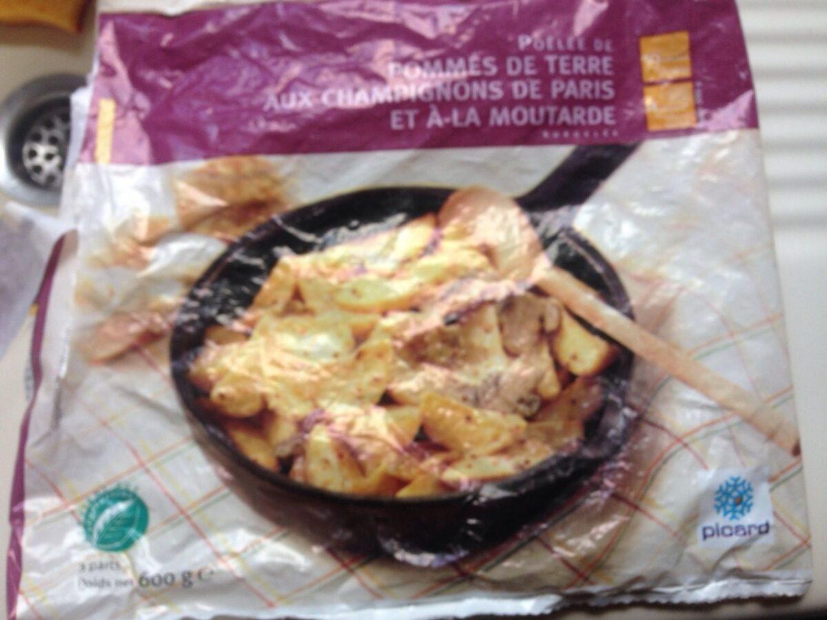 Poêlée de pomme de terre aux champignons de Paris - Product - fr