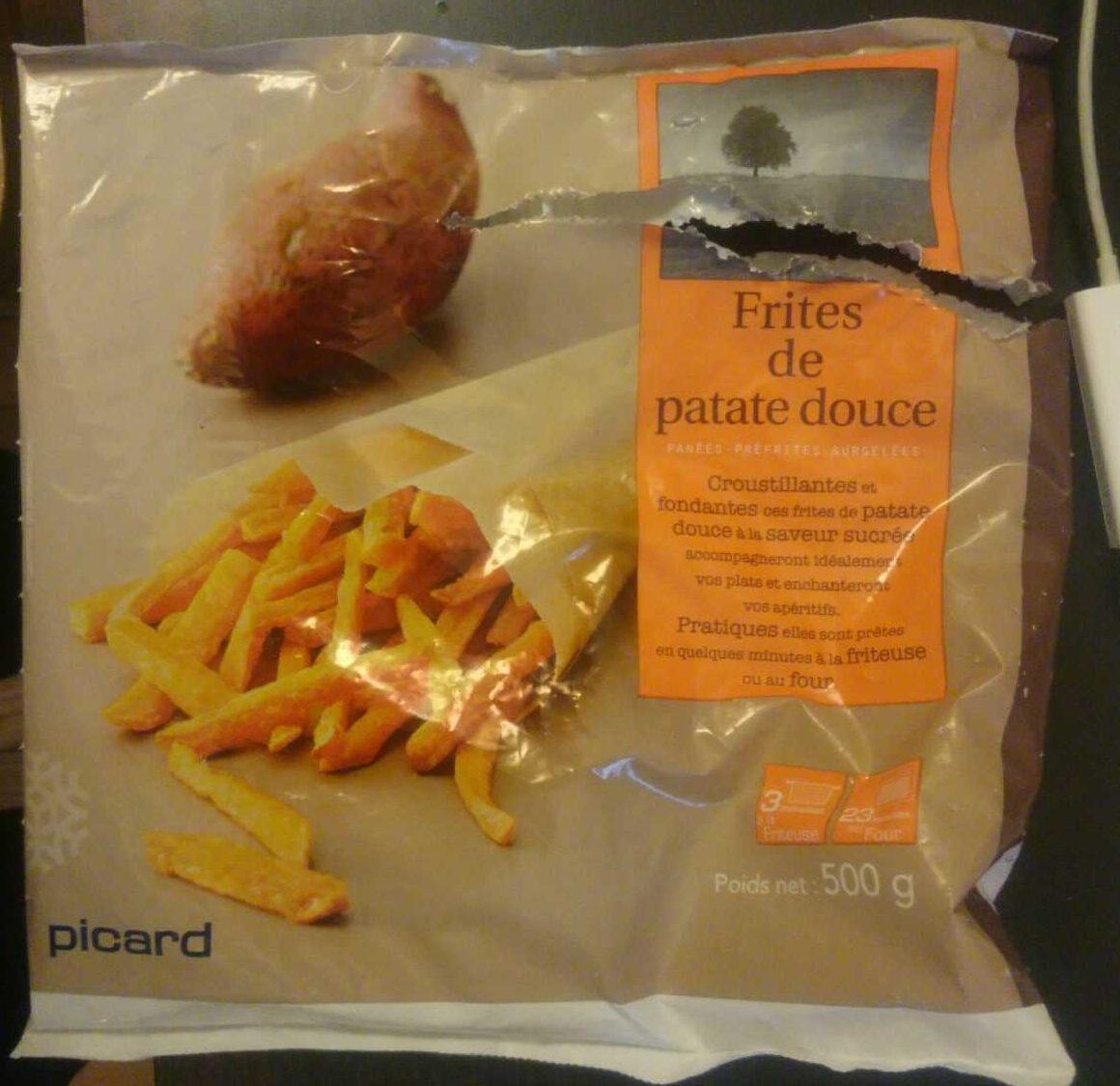 Frites de patate douce - Product