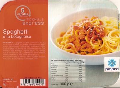 Spaghetti à la bolognaise, Surgelés - Product - fr