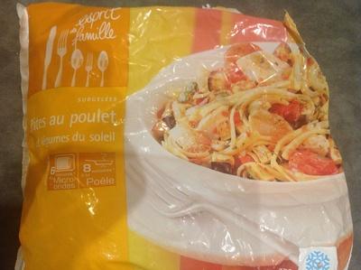 Pâtes au poulet et légumes du soleil - Product - fr