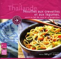 Nouilles aux Crevettes et aux Légumes, Sauce au Lait de Coco et au Gngembre, Surgelées - Produit - fr
