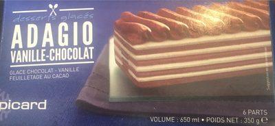 Adagio Vanille-chocolat - Produit - fr