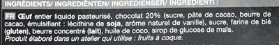 12 Mini-Moelleux au Chocolat - Ingrediënten - fr