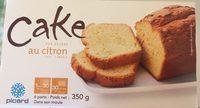 Cake au citron - Produit