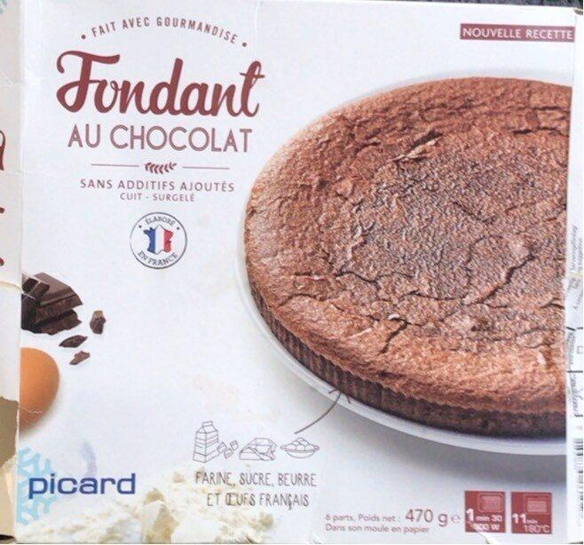 Fondant au Chocolat surgelé - Product - fr