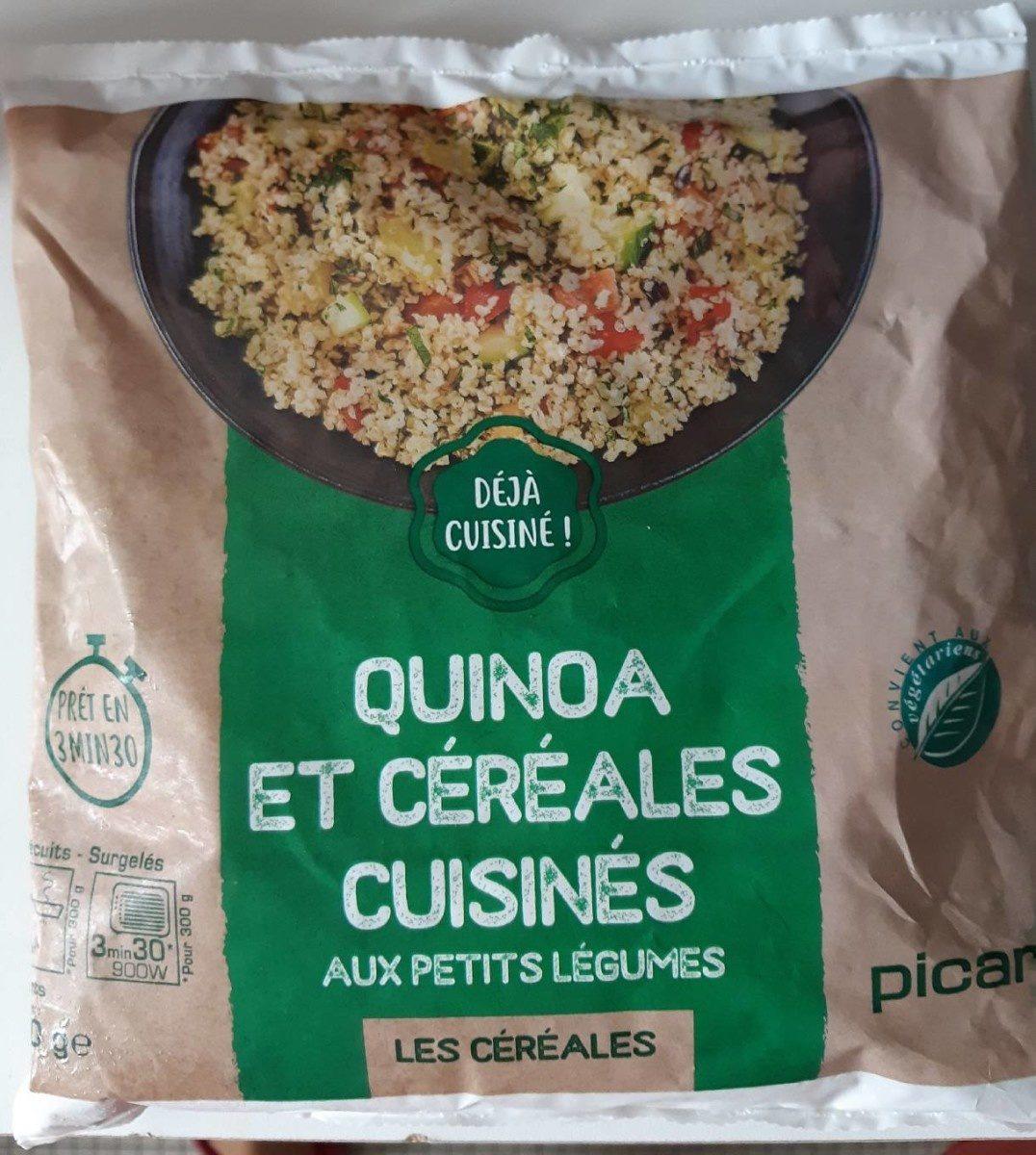 Quinoa et céréales cuisinés / légumes - Produit