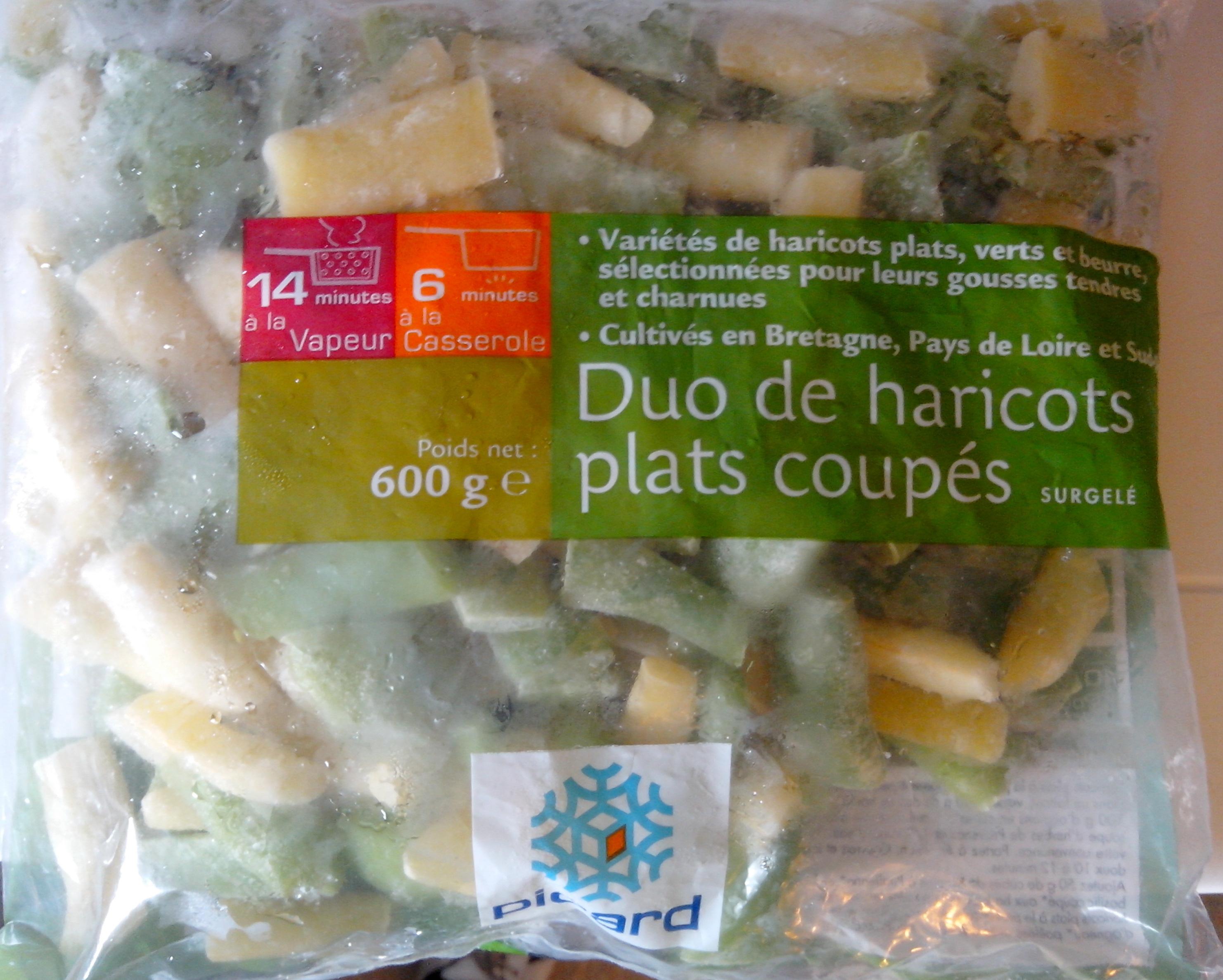 Duo de haricots plats coupés - Produit