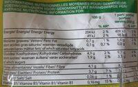 Mélange De Légumes Vapeur - Informations nutritionnelles - fr