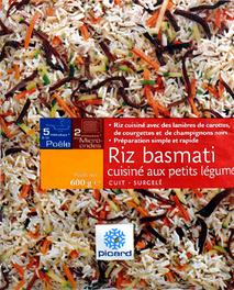 Riz Basmati Cuisiné aux Petits Légumes - Produit