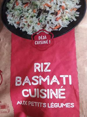 Riz Basmati Cuisiné aux Petits Légumes - Ingrédients
