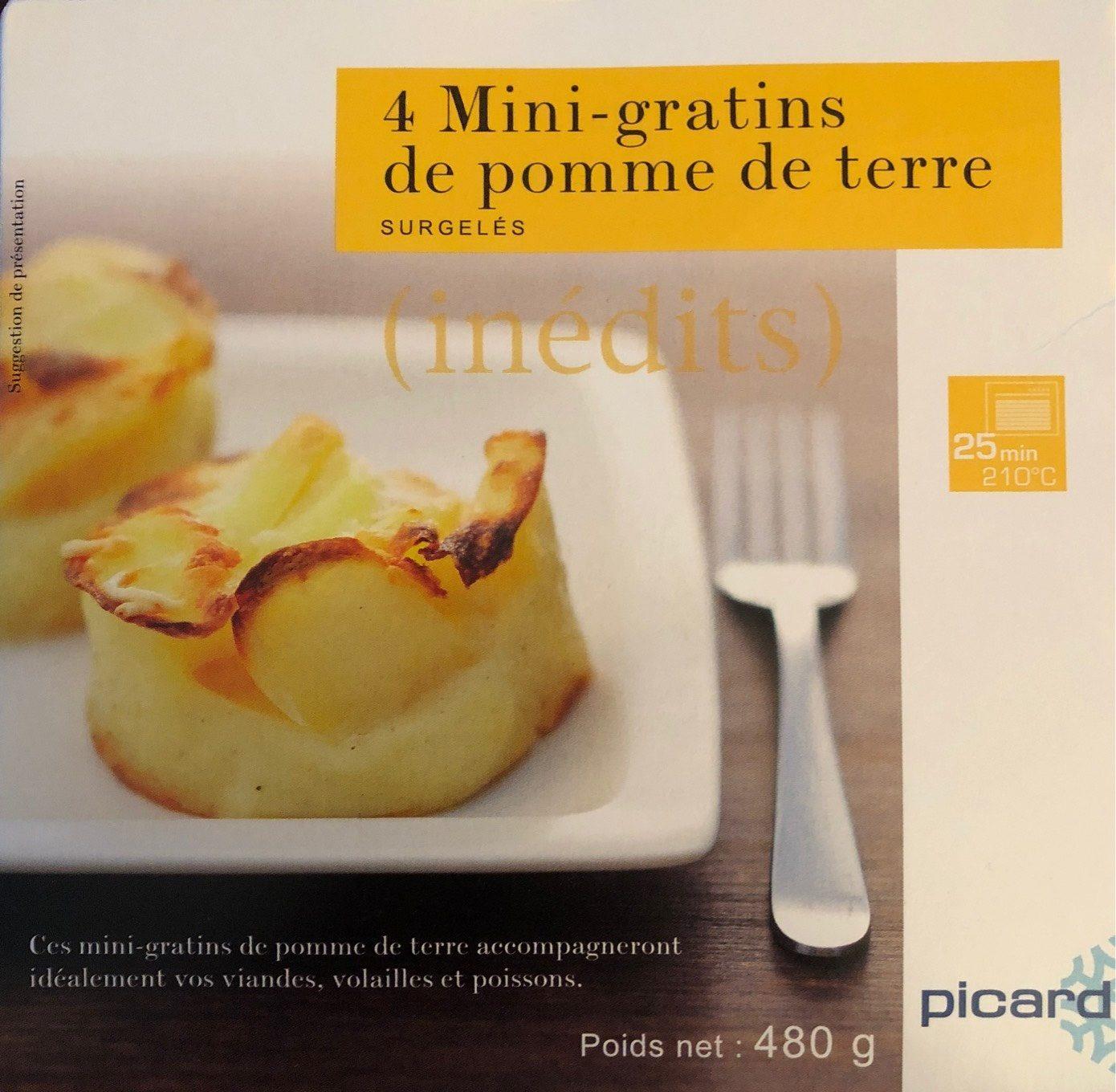 8262f81128a 4 Mini-gratins de pomme de terre - Picard - 480 g