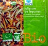 Julienne de légumes Bio - Producto