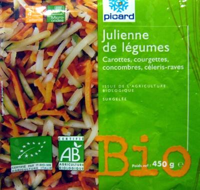 Julienne de légumes Bio - Produit - fr