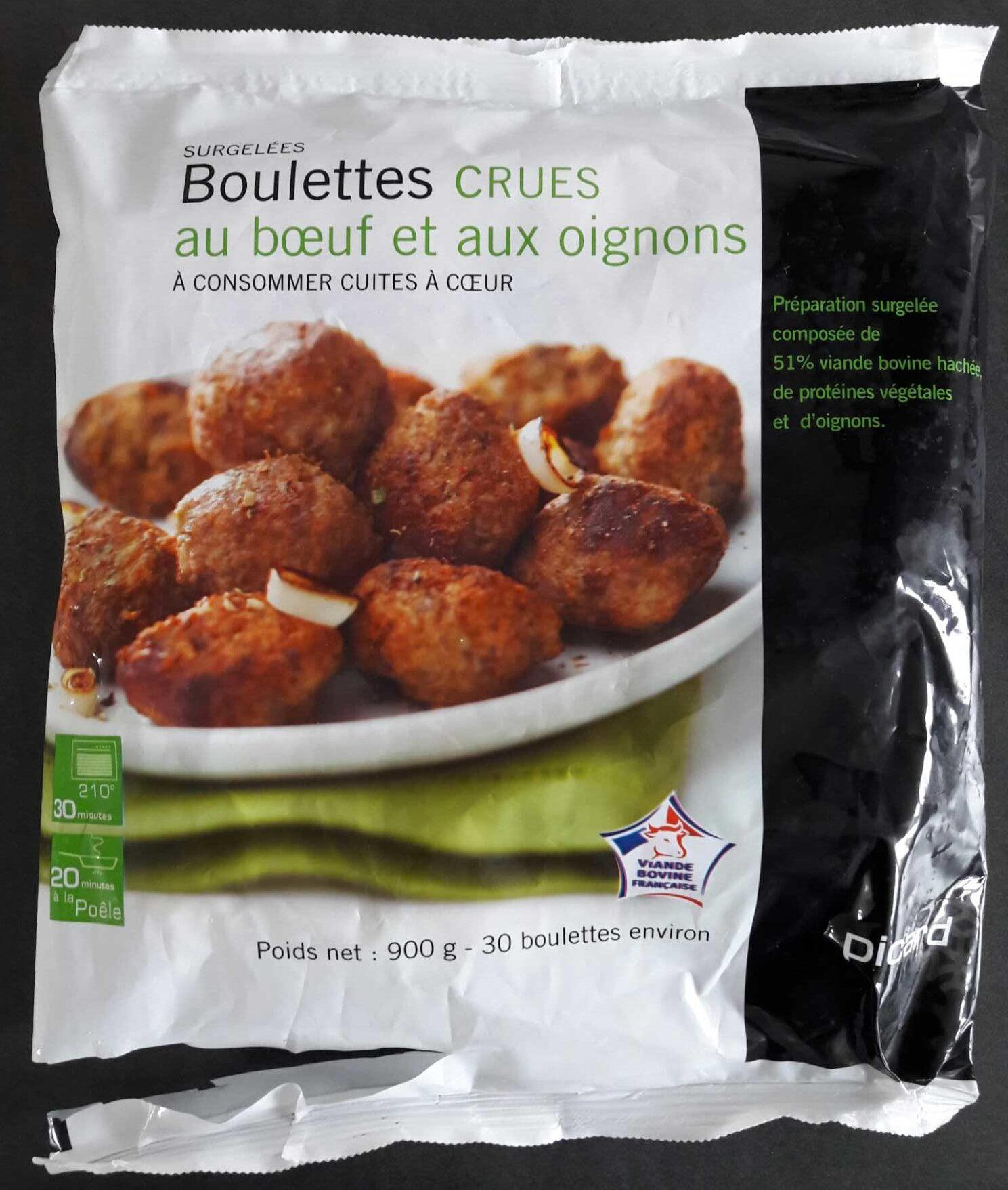 Boulettes au Bœuf et aux Oignons Crues - Produit - fr