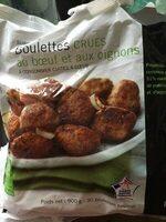 Boulettes au Bœuf et aux Oignons Crues - Product - fr
