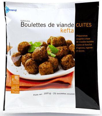 Boulettes de viande cuites kefta - Produit - fr