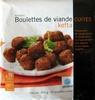 Boulettes de viande cuites kefta - Produit