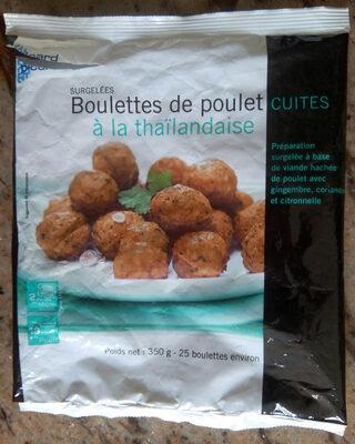 Boulettes de poulet cuites à la thailandaise - Produit - fr