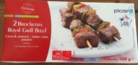 2 brochettes royal grill boeuf - Product