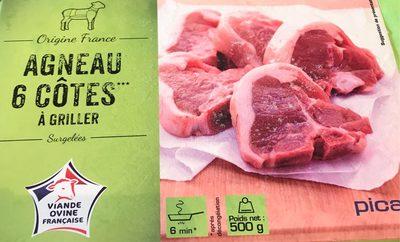 6 Côtes d'Agneau à Griller - Produit