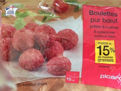 Boulettes au Boeuf - Product - fr