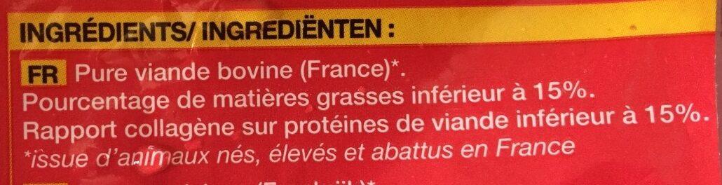 Boulettes au Boeuf - Ingredients - fr