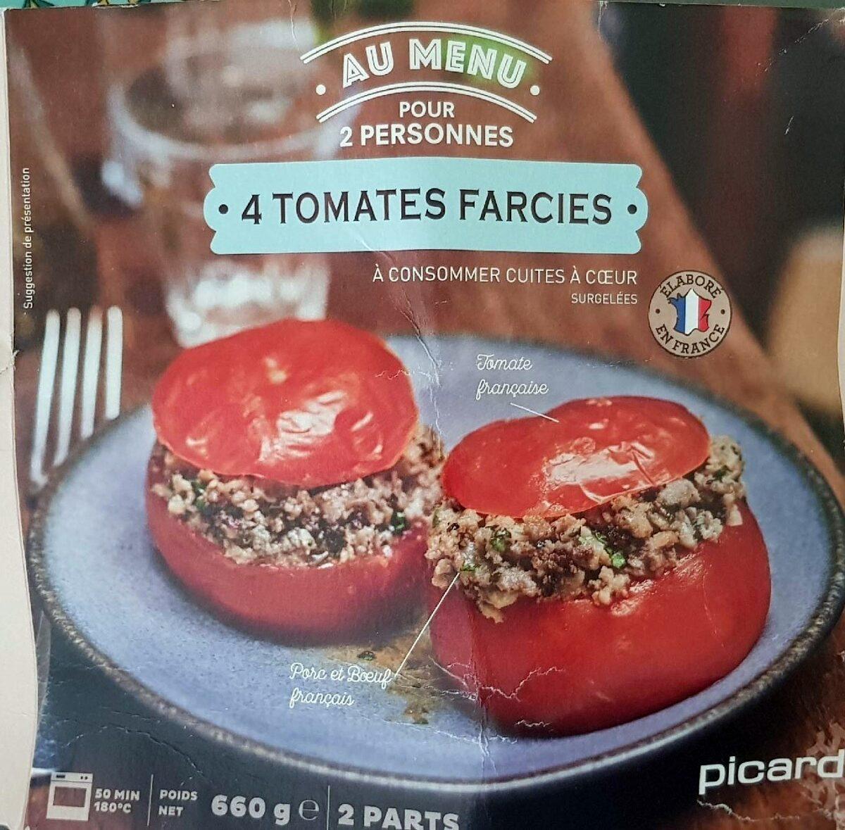 4 Tomates farcies - Produit - fr