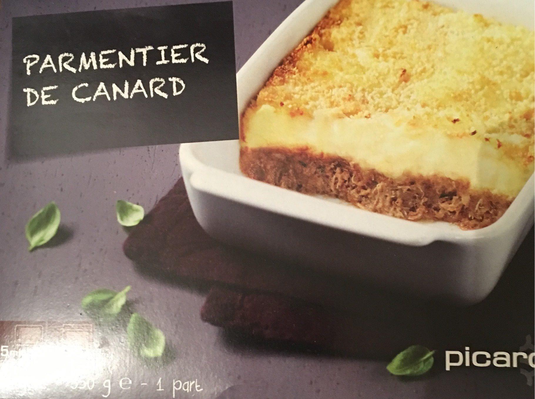 Parmentier de Canard, Surgelé - Produit - fr