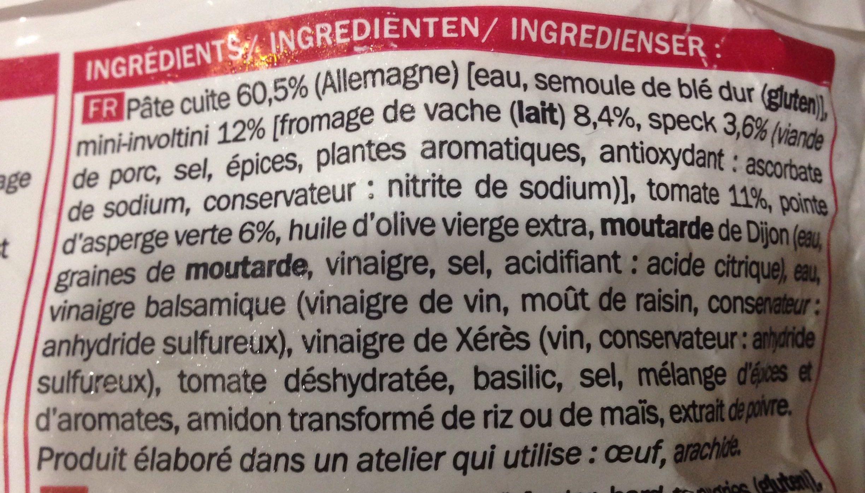 Salade à l'italienne - Ingrédients - fr