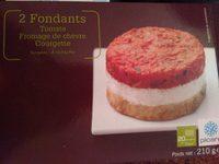 Fondants tomate, fromage de chèvre et courgette - Produit