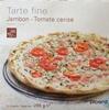 Tarte fine Jambon Tomate Cerise - Product