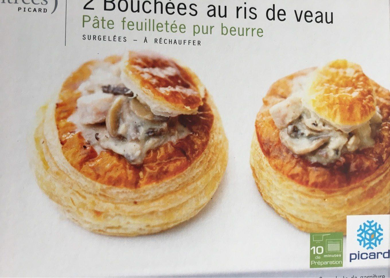 2 Bouchées au Ris de Veau - Produit