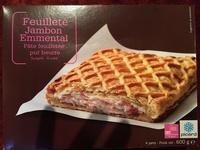 Feuilleté jambon emmental - Produit - fr