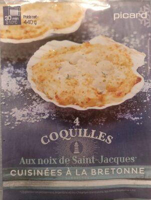 COQUILLE AUX NOIX DE SAINT JACQUES - Product - fr