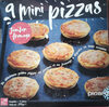 9 mini pizzas jambon fromage - Product