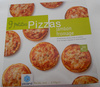 9 petites pizzas jambon fromage - Product