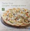 Tarte Fine Courgette - Fromage de Chèvre - Produit