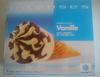 Cônes intenses Vanille avec copeaux de chocolat noir - Produit