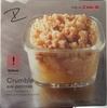Crumble pommes - Product