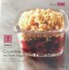 Crumble aux fruits rouges - Produit