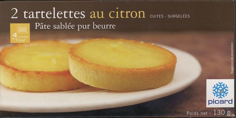 2 Tartelettes Au Citron - Product