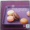 16 macarons (chocolat, vanille, framboise, café) - Product