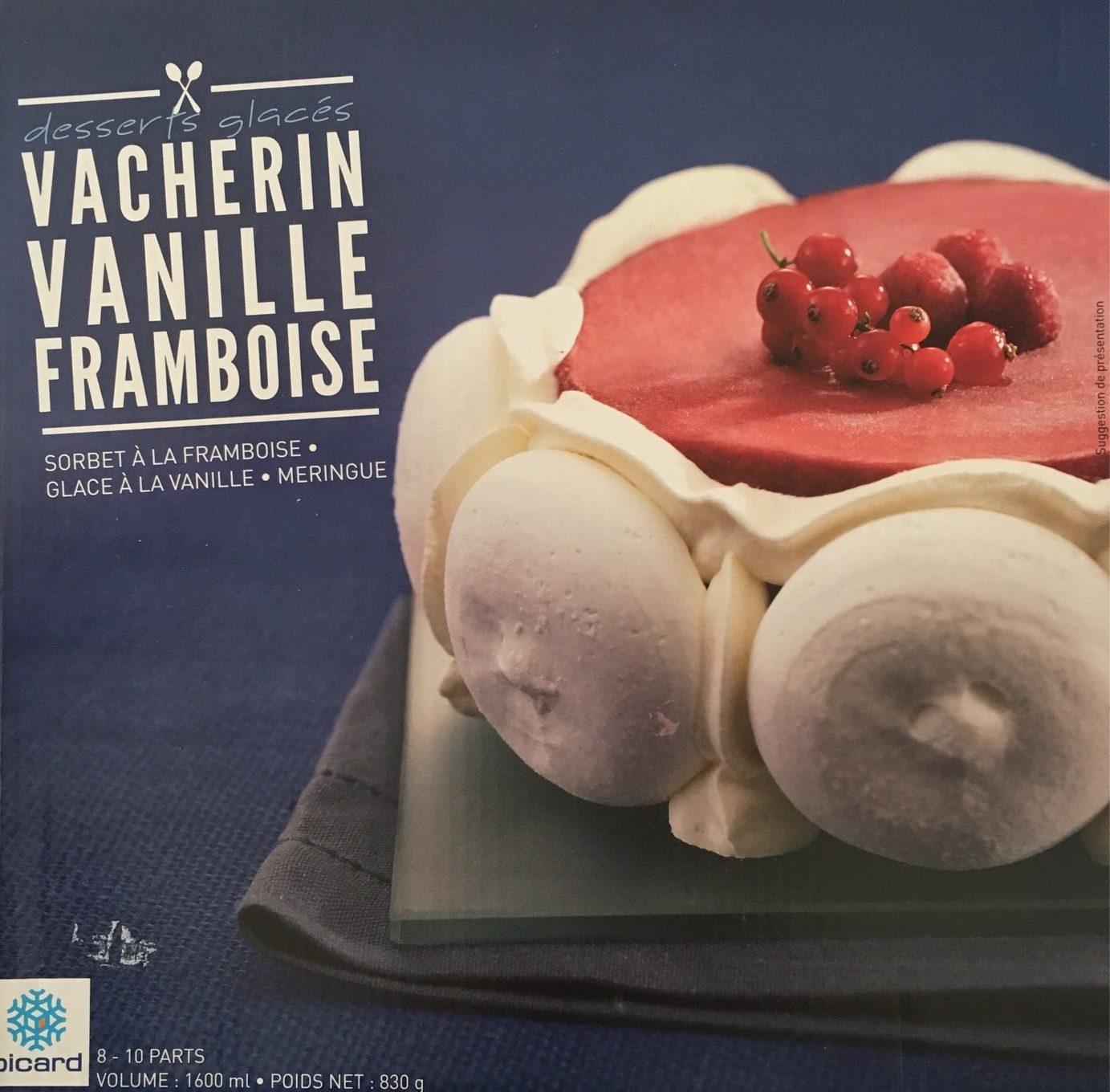 Vacherin Vanille-framboise - Produit