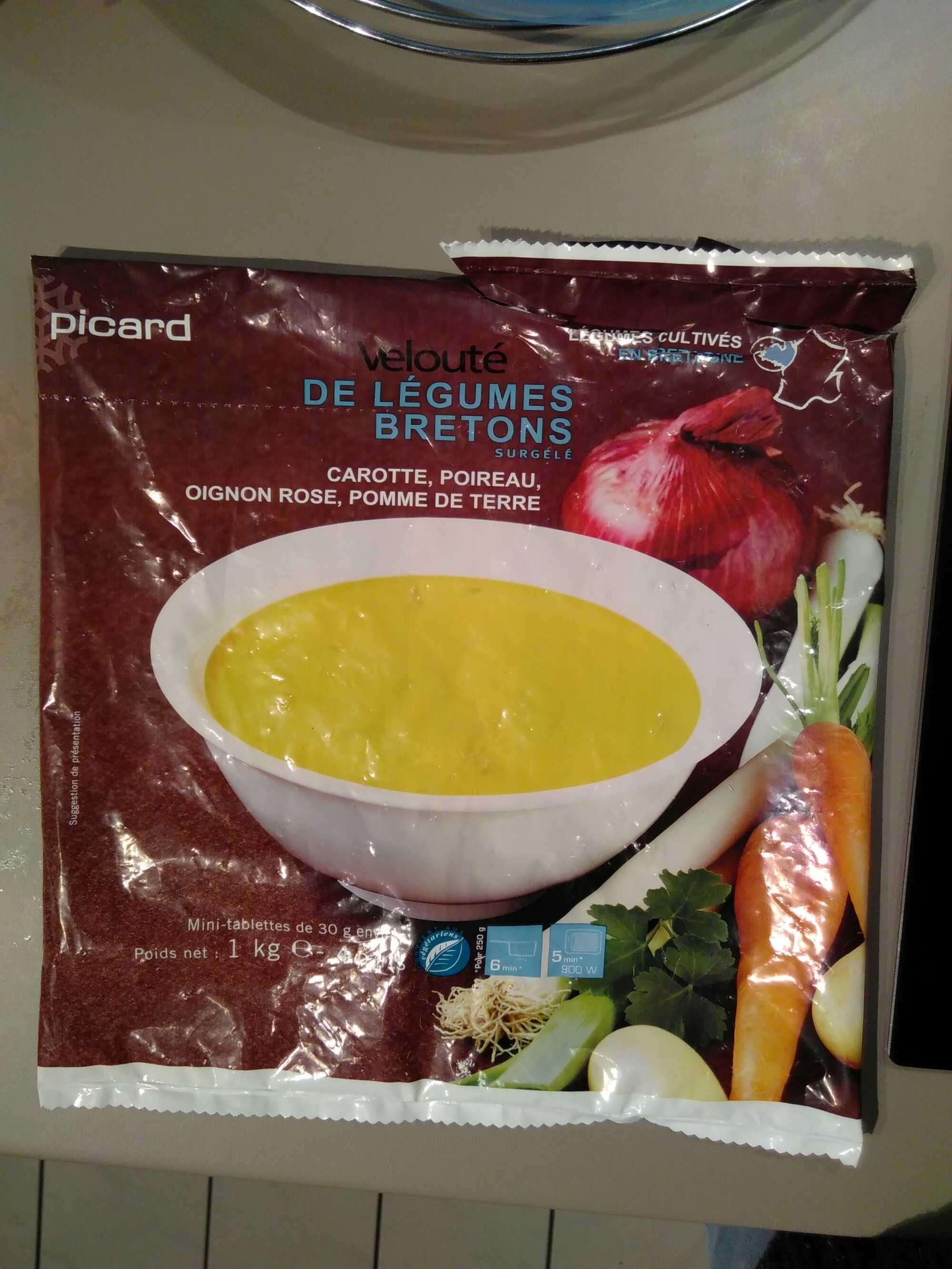 acc8e432933 Velouté de Légumes Bretons Surgelé - Picard - 1 kg e