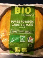 Purée potiron, carotte, maïs - Product